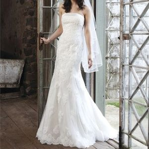 Sincerity Bridal 3704 Beaded Fitted Wedding Gown